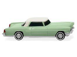 WIKING 021002 Ford Continental weissgruen mit weissem Dach 1 87
