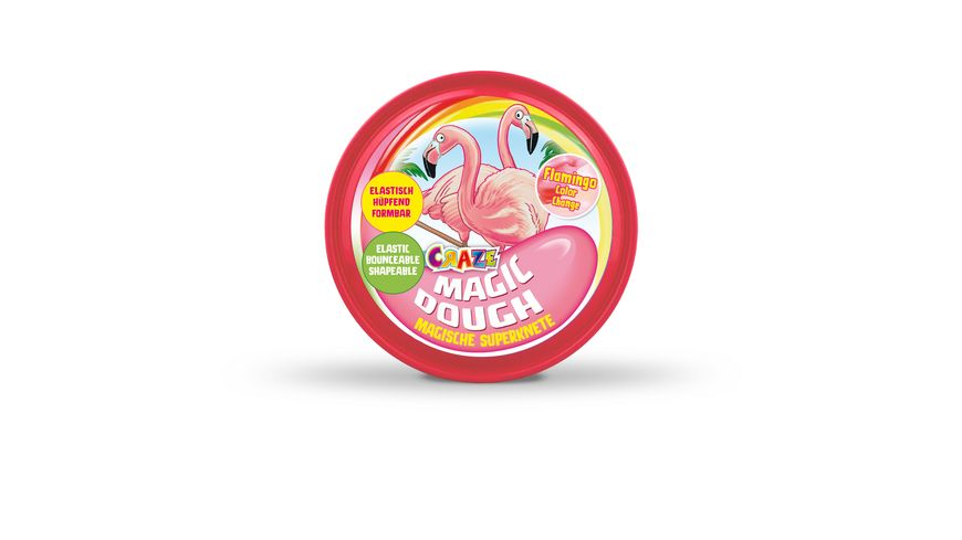 CRAZE Magic Dough Flamingo