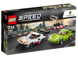 LEGO Speed Champions 75888 Porsche 911 RSR und 911 Turbo 3 0