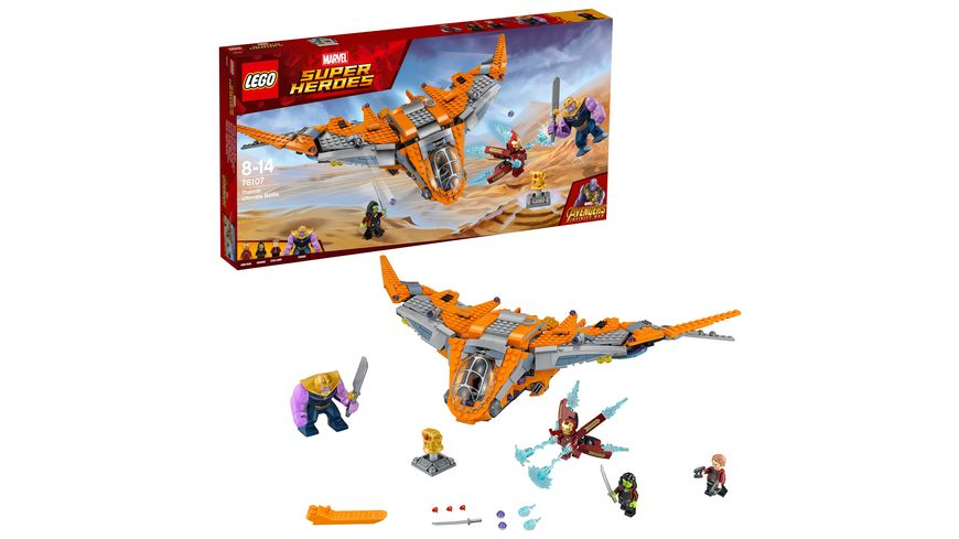 LEGO Marvel Super Heroes 76107 Thanos Das ultimative Gefecht