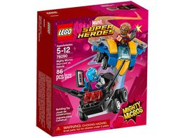 LEGO Marvel Super Heroes 76090 Mighty Micros Star Lord vs Nebula
