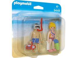 PLAYMOBIL 9449 Family Fun Duo Pack Strandurlauber
