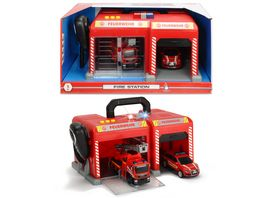 Dickie Toys S O S Station Feuerwehr