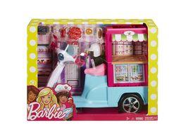 Mattel Barbie Snack Roller