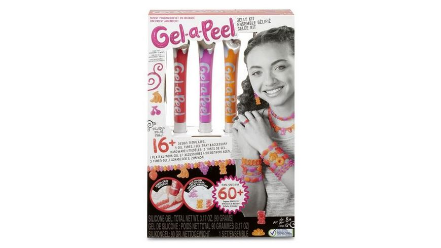 Gel a Peel Gelee Kit 3 er Pack