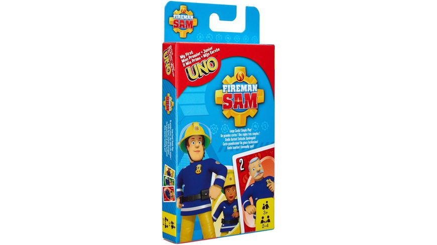 Mattel Games Feuerwehrmann Sam UNO Junior