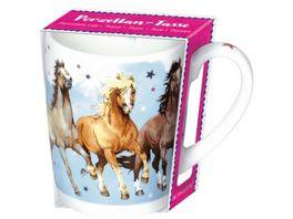 Die Spiegelburg Porzellan Tasse Wolkenpferde Pferdefreunde sortiert