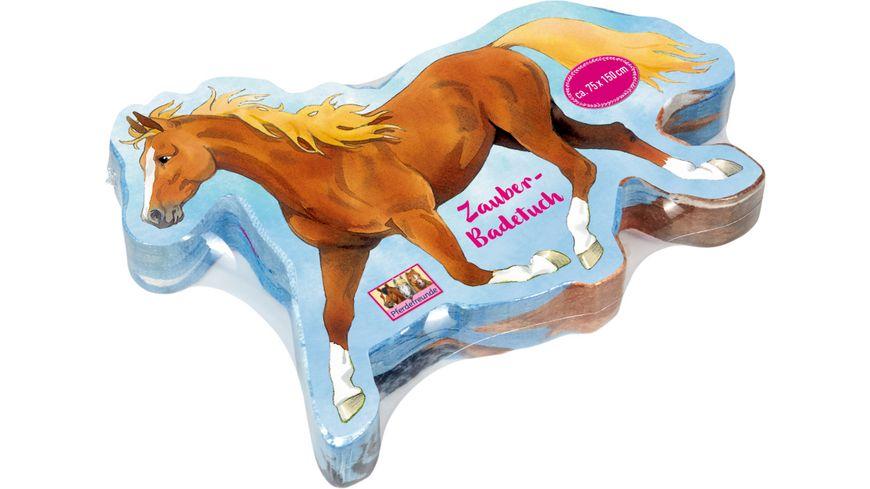 Die Spiegelburg Zauberbadetuch Pferdefreunde ca 75 x 100 cm