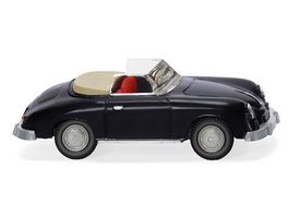 Wiking 0160 39 Porsche 356 Cabrio schwarz 1 87