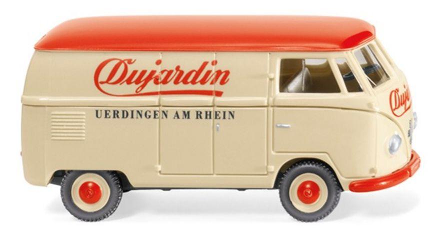 WIKING 078811 VW T1 Typ 2 Kastenwagen Dujardin 1 87