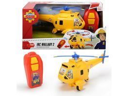 Dickie Toys Feuerwehrmann Sam IRC Wallaby 2