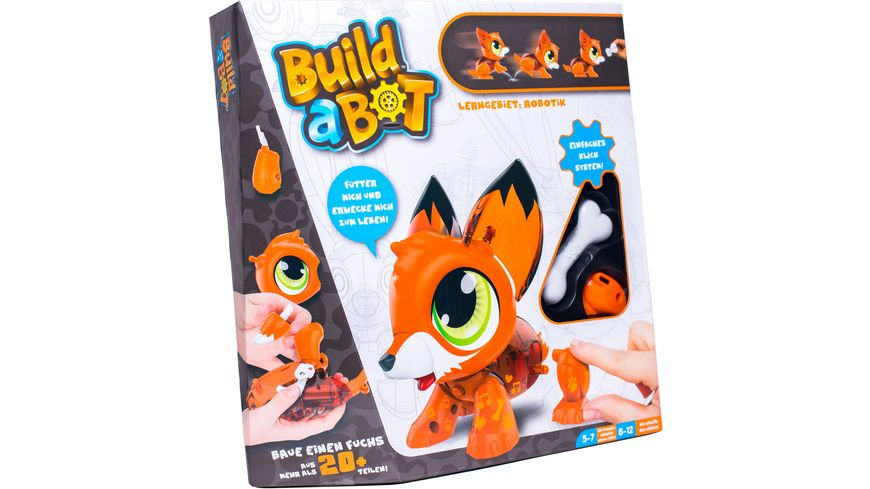 KD Kidz Delight Build A Bot Fuchs
