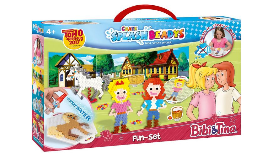 CRAZE SPLASH BEADYS Fun Set BIBI TINA