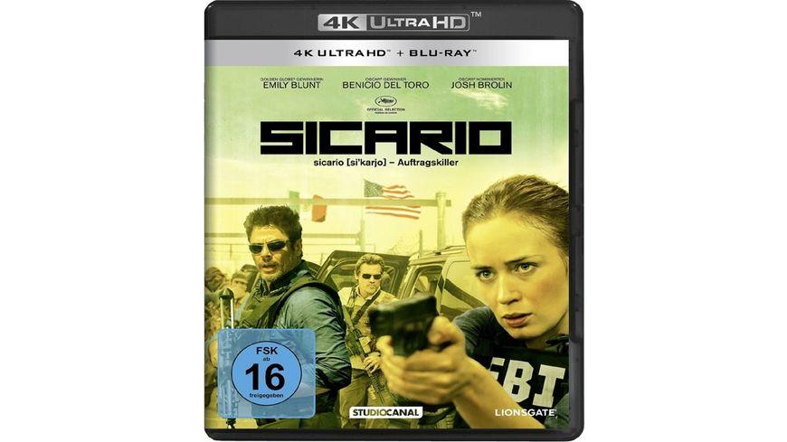 Sicario 4K Ultra HD Blu ray