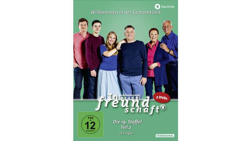 In aller Freundschaft Staffel 19 2 5 DVDs