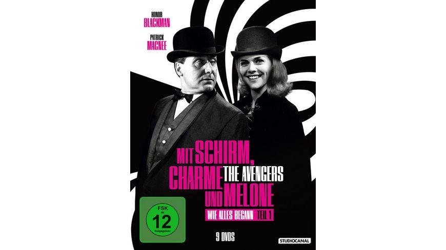Mit Schirm Charme und Melone Wie alles begann Edition 1 9 DVDs