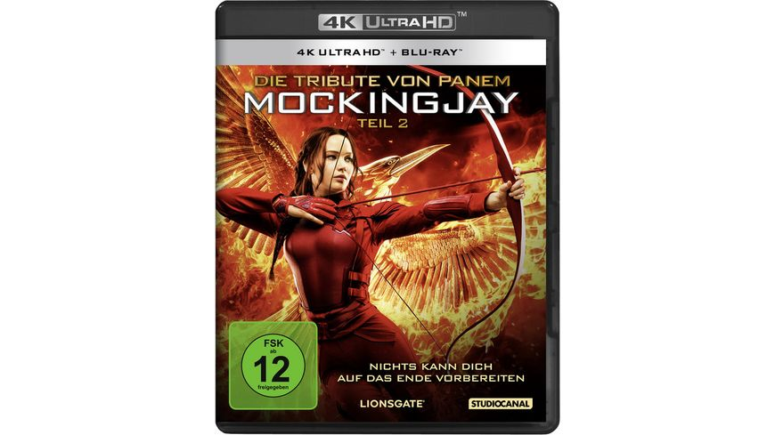 Die Tribute von Panem Mockingjay 2 4K Ultra HD Blu ray