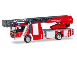 Herpa 93521 Mercedes Benz Econic Drehleiter Feuerwehr Landshut