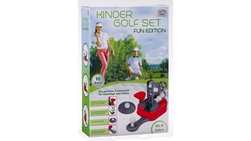 Mueller Toy Place Kinder Golf Set FUN EDITION