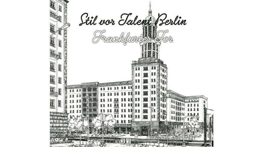 Stil Vor Talent Berlin Frankfurter Tor CD MP3