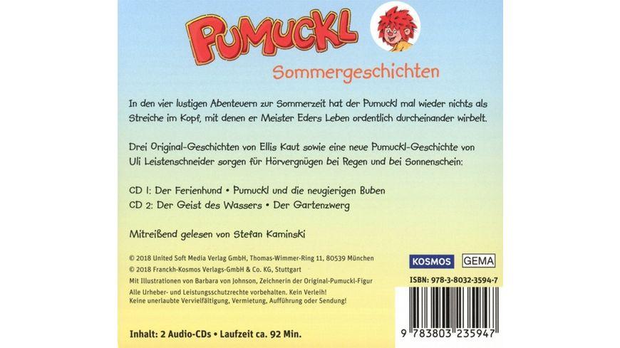 Pumuckl Sommergeschichten 2 Audio CDs