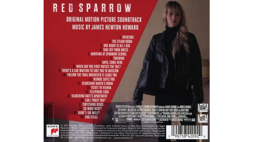 Red Sparrow OST