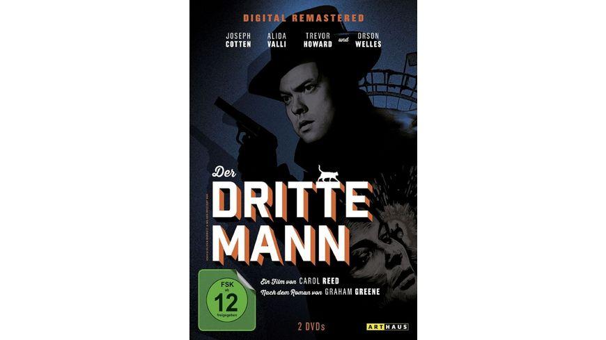 Der dritte Mann SE 2 DVDs Digital Remastered