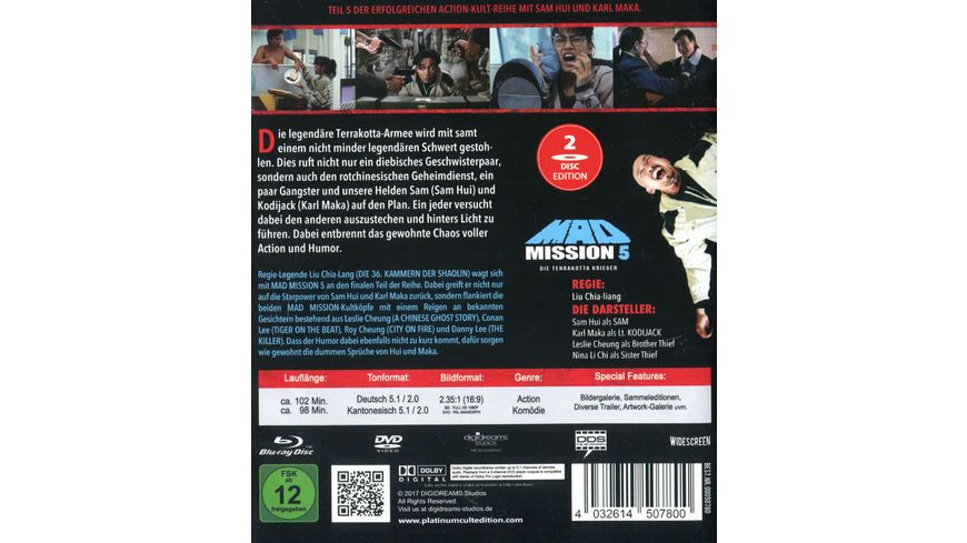 Mad Mission 5 Uncut 2 Disc Complete Edition Blu ray DVD