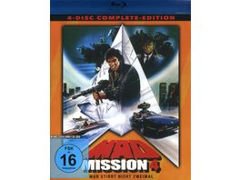 Mad Mission 4 Uncut 4 Disc Complete Edition 2 Blu rays 2 DVDs