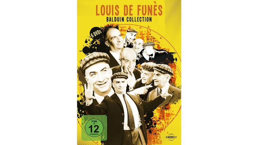 Louis de Funes Baldiun Collection 6 DVDs