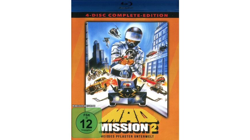 Mad Mission 2 Uncut 4 Disc Complete Edition 2 Blu rays 2 DVDs