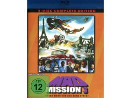 Mad Mission 3 Uncut 4 Disc Complete Edition 2 Blu rays 2 DVDs