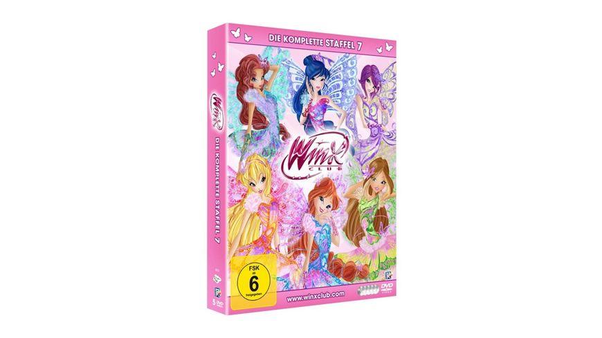 Winx Club Die komplette Staffel 7 5 DVDs