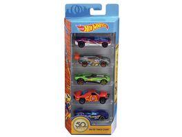 Mattel Hot Wheels 50th 5er Geschenkset sortiert