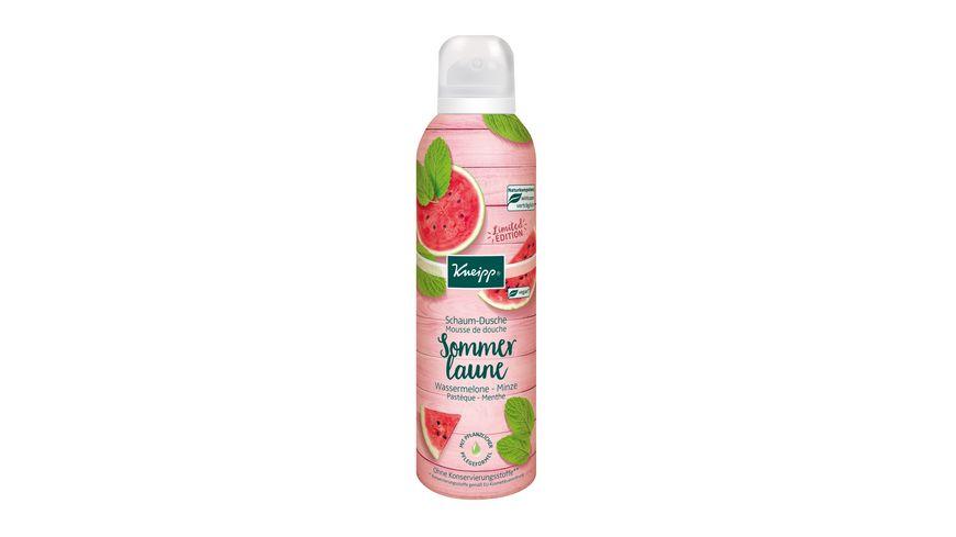 Kneipp Schaum Dusche Sommerlaune