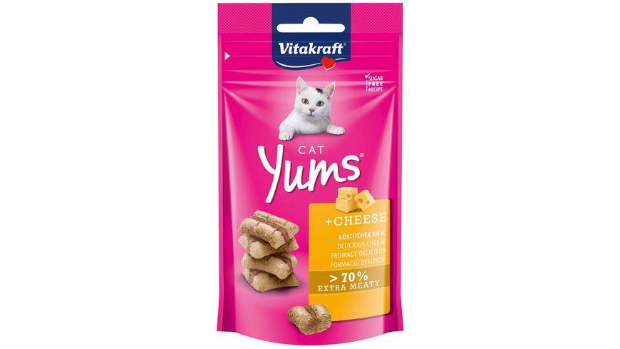 Vitakraft Katzensnack Cat Yums Kaese