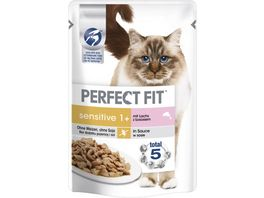 PERFECT FIT KATZE Katzennassfutter Portionsbeutel Sensitive LACHS