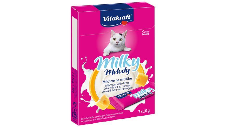 Vitakraft Katzensnack Milky Melody mit Käse