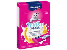 Vitakraft Katzensnack Milky Melody mit Kaese