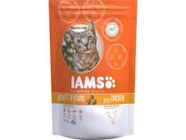 IAMS Katzentrockenfutter mit Huhn