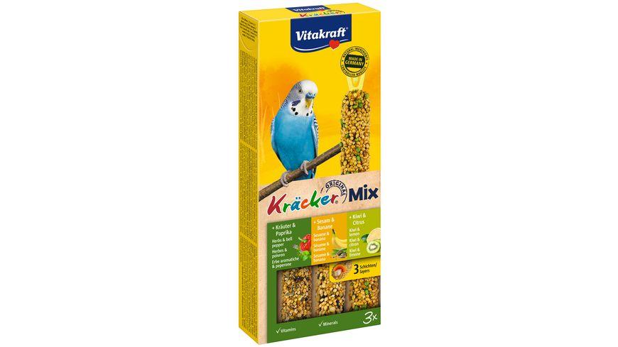 Vitakraft Kraecker Trio Mix Banane Kraeuter Kiwi