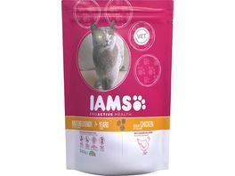 IAMS Senior Katzentrockenfutter mit Huhn