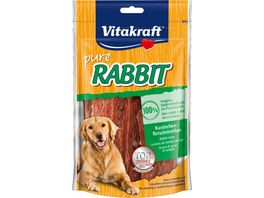Vitakraft Hundesnack RABBIT Kaninchenfleischstreifen