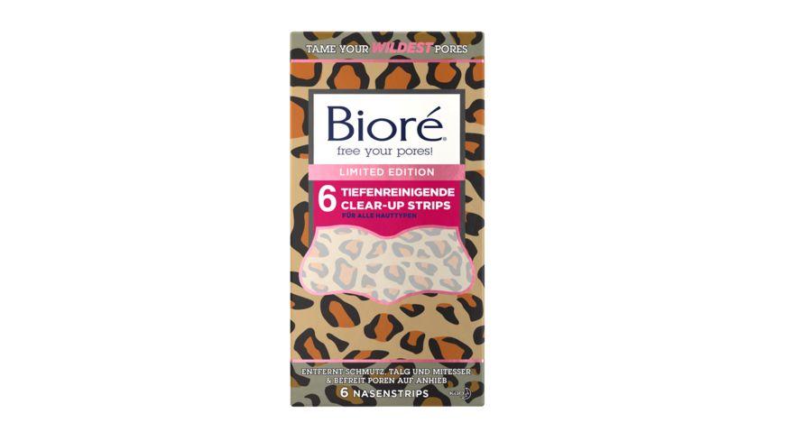 Biore Clear Up Strips tiefenreinigend Limited Edition Cheetah