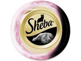 Sheba Katzennassfutter Feine Filets mit Meeresfruechten