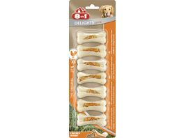 8in1 Hundesnack Delights Strong Kauknochen XS