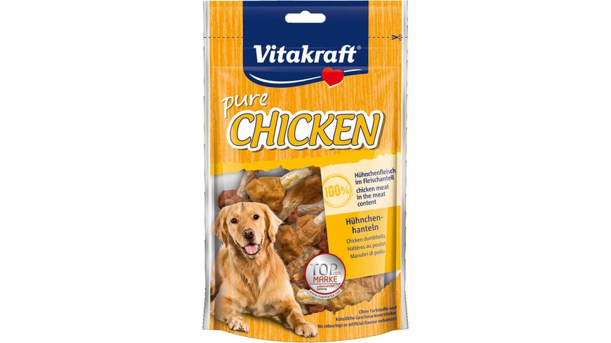 Vitakraft Hundesnack CHICKEN Huehnchenhanteln