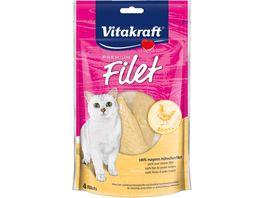 Vitakraft Katzennassfutter Cat Premium Filet Huhn