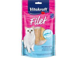 Vitakraft Katzennassfutter Cat Premium Filet Lachs