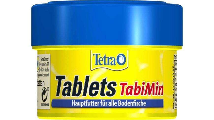 Tetra Tablets TabiMin Futter fuer bodenfressende Fische 58 Tabletten